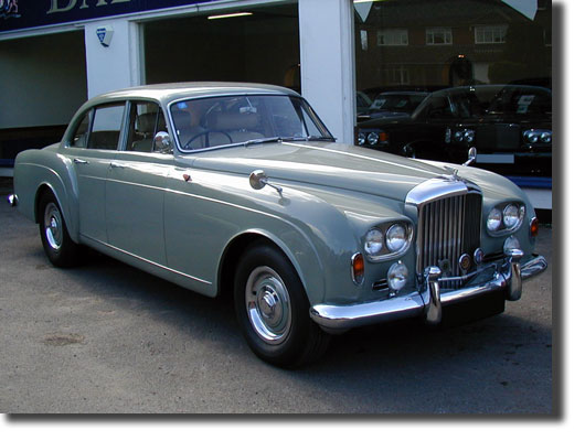 1963 Bentley S3 Hj Mulliner Continental Flying Spur