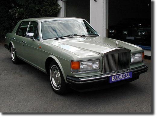 1987 Rolls Royce Silver Spirit Efi