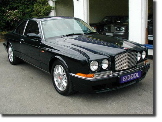 Silver Bentley Continental R.